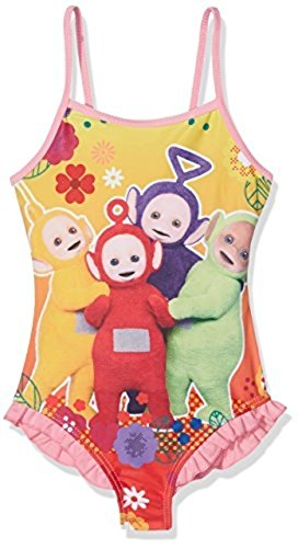 Teletubbies Suit - Teletubbies Girl's Swimsuit/One-Piece Swimsuits (5 Years,