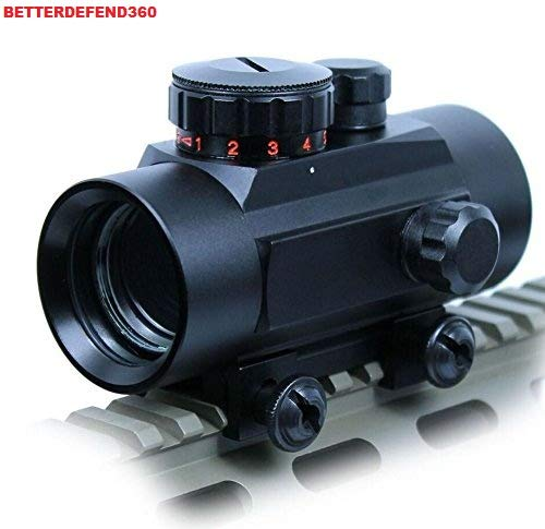 360 TACTICAL 30MM TACTICAL RED/GREEN DOT SIGHT WITH WEAVER PICATINNY RAIL