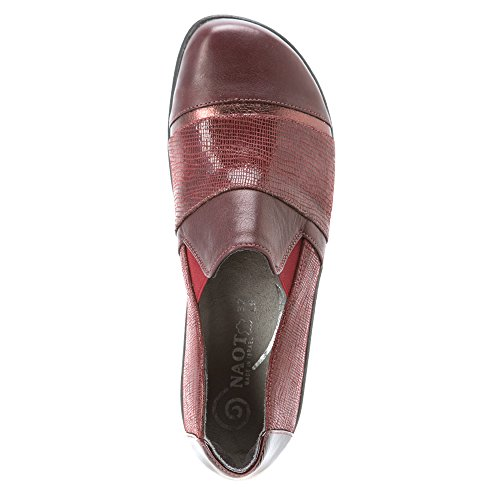 Naot Ladies Shoes Slipper Miro Leather Bordo Combi 12808 Ricambio Plantare Per Il Tempo Libero