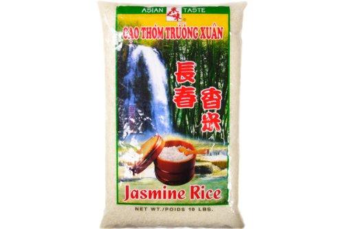 Jasmine Rice (Gao Thom Truong Xuan) - 10 Lb (Pack of 1)