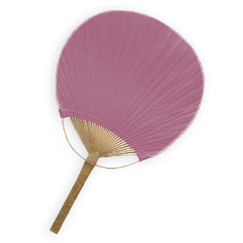 Weddingstar Paddle Fan, Plum
