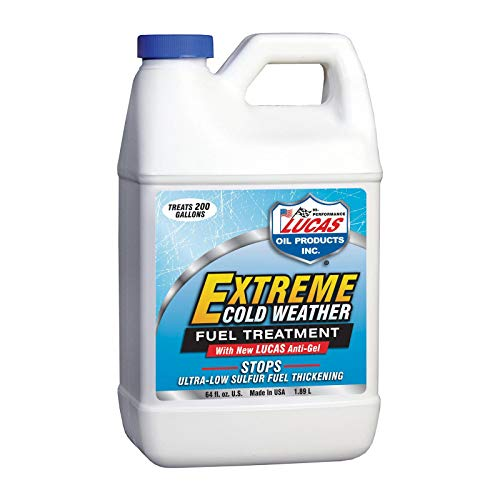 Lucas 10021 Extreme Cold Weather Diesel Fuel Treatment – 64 oz.
