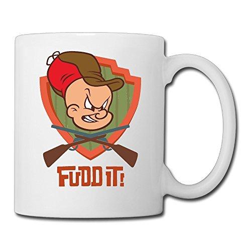 cool-elmer-fudd-ceramic-coffee-mug-tea-cup-best-gift-for-men-women-and-kids-135-oz-white