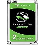 Seagate BarraCuda Internal Hard Drive 2TB SATA 6Gb/s 64MB Cache 3.5-Inch (ST2000DM006)