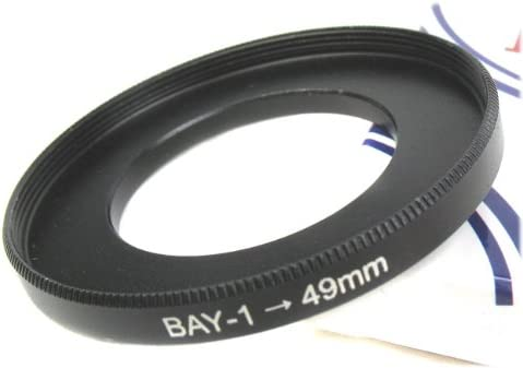 Yashica MAT Rolleiflex Yashica MAT 124G TLR Bay 1 to 52mm Adapter Ring for Rollei