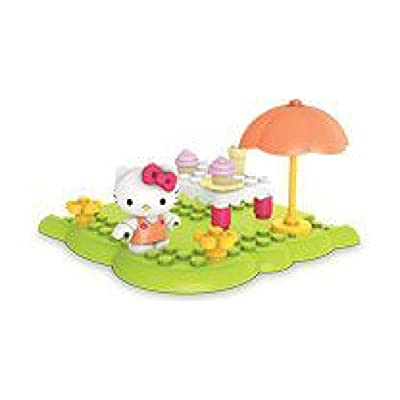 Mega Bloks Hello Kitty Happy Picnic assorted colors (15 pcs): Toys & Games