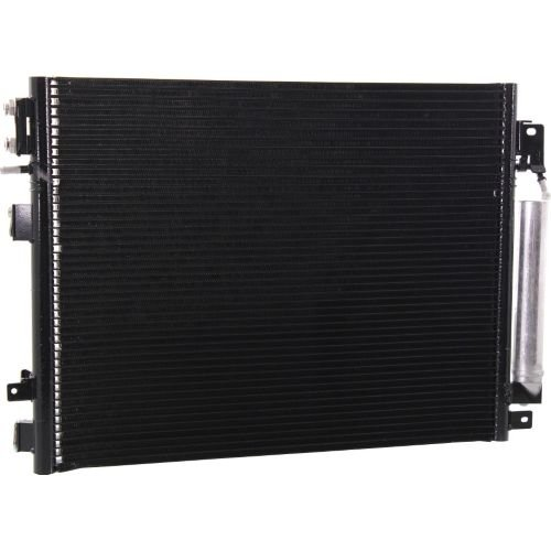 Make Auto Parts Manufacturing - CONDENSER WITH TRANSMISSION AND POWER STEERING OIL COOLER; FOR - CND3897