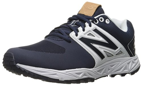 New Balance Men's 3000v3 Baseball Turf Shoes, Navy/White - 12 D US