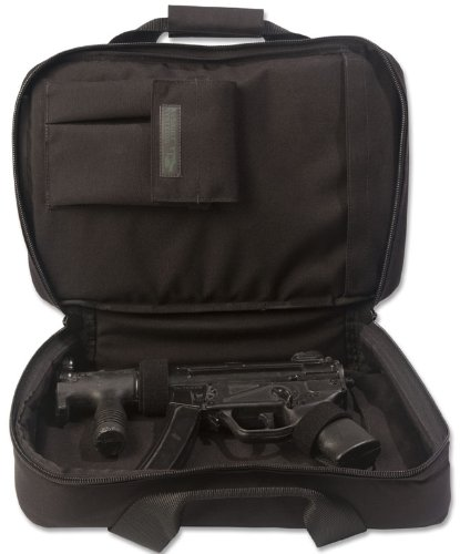 Elite Survival Systems ELSCOC16-B Covert Operations Discreet Mp-5K Sp89 Ar15 Pistol Rifle Case, Black, 16