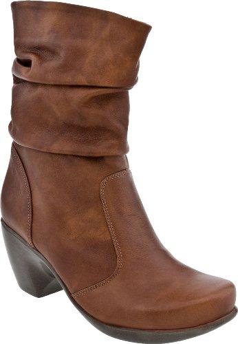 Naot Women's Modesto Slouch Boot, Cinnamon Leather, 36 EU...
