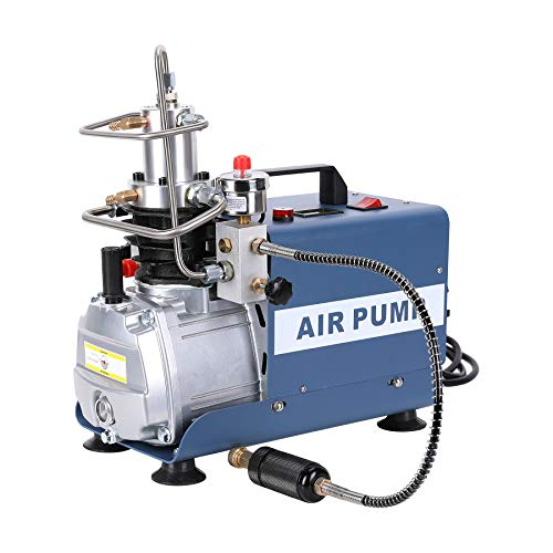 Electric Pcp Air Compressor Pump 4500 Psi 30 Mpa 300 Bar Pressure Customized Adjustable Control With Auto Stop Fill Paintball And Scuba Tanks Pressure And Leakage Testing