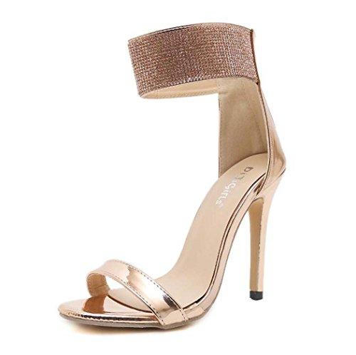 Mujer Sandalias Tac de Zapatos para FfxfnqUw
