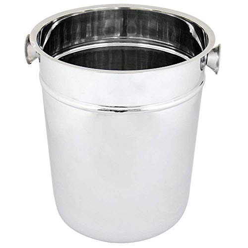 Kosma Stainless Steel Champagne Bucket | Beverage Bucket | Ice Bucket Wine Cooler - 8 Qts ()