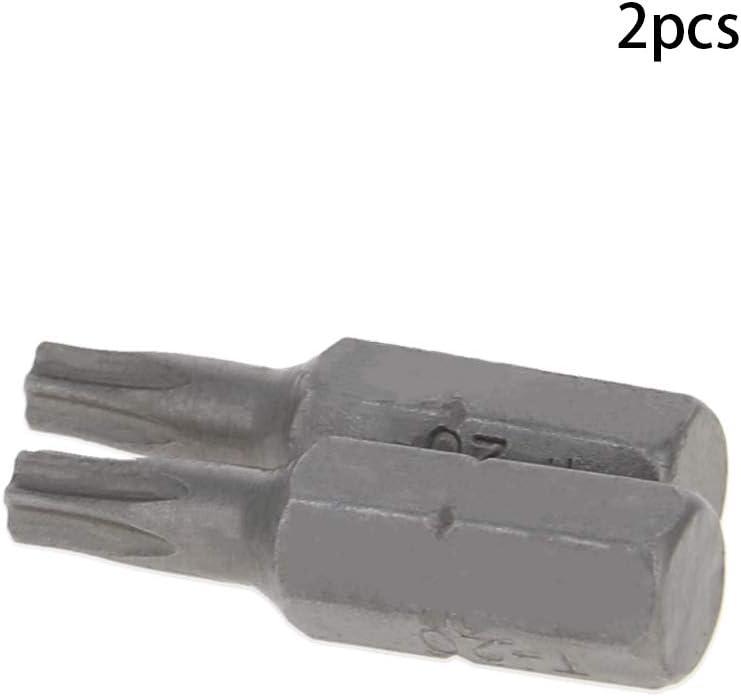 Utoolmart Screwdriver Bit Set Hex Allen Torx Star Tri Tamperproof Security Bits /& Holder Bits 1//4 inch T30/×25mm