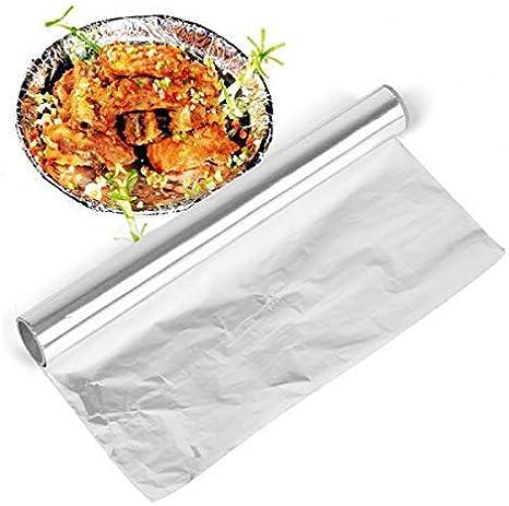 /® 2020 Nouveau Premium Premium Heavy Duty Qualit/é Service Alimentaire Rouleau De Papier Aluminium /Épais Cuisine En Aluminium Wrap Recharge Originale Alimentation Coupe L/ég/ère