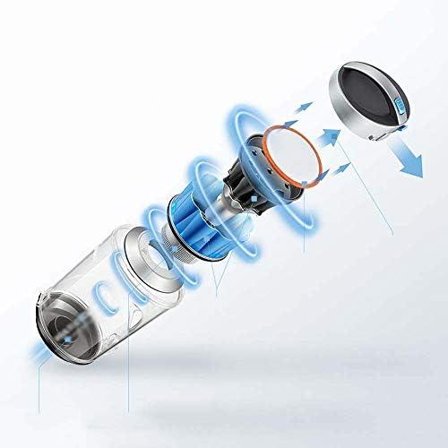 Aspirateur balai Nettoyant multifonctionnel à vide horizontal Grande aspiration ultra-silencieux puissant de haute puissance portable Aspirateur, Noir Ménage, Bureau Portable