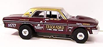 Auto World Legends 1964 Ford Thunderbolt NHRA Super Stock Racer HO scale  Slot Car Racer