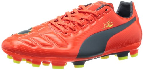 Puma Evopower 3 Ag - Zapatillas de fútbol Naranja - Orange (Fluro Peach/Blue/Yellow)
