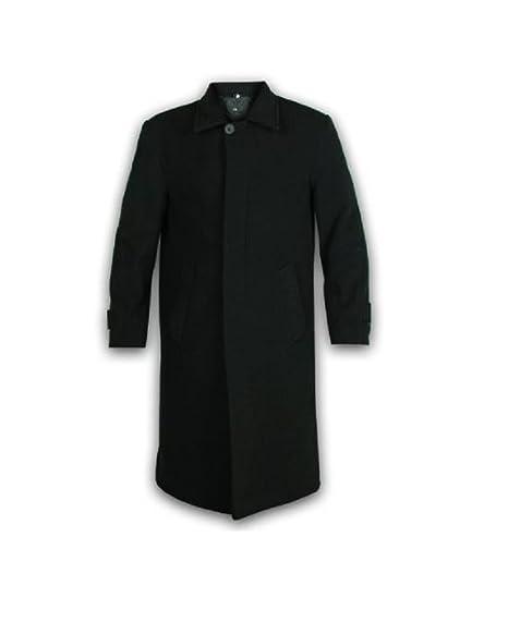 fb84aec87df3b0 Uomo Lana E Cashmere Lungo Cappotto Soprabito: Amazon.it: Abbigliamento