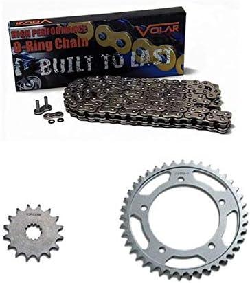 Volar O-Ring Chain and Sprocket Kit Nickel 1994-2010 Suzuki GS500 GS500E GS500F