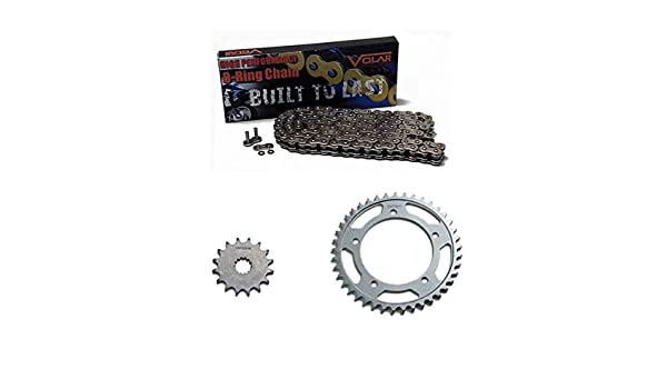 Volar O-Ring Chain and Sprocket Kit Black for 2009-2018 BMW F800R
