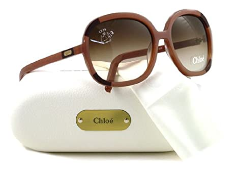 d2d3dfd1c0ce Chloe CL 2189 Sunglasses CL2189 Plum C01 Shades  Amazon.co.uk  Clothing