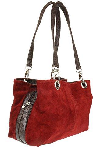 granate de Bolso Mujer Handbags hombro Girly qBzXwx86