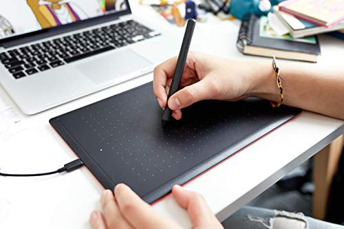 Wacom One by Wacom CTL-672-N Medium Creative Pen Tablet