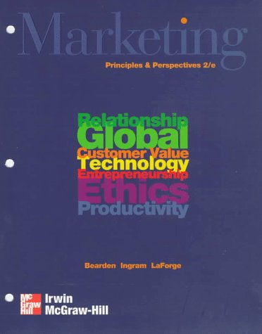 Marketing: Principles and Perspectives Loose Leaf