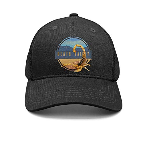 - Death Valley National Park Unisex Cotton Flat Brim Cap Adjustable Mesh Baseball Hats