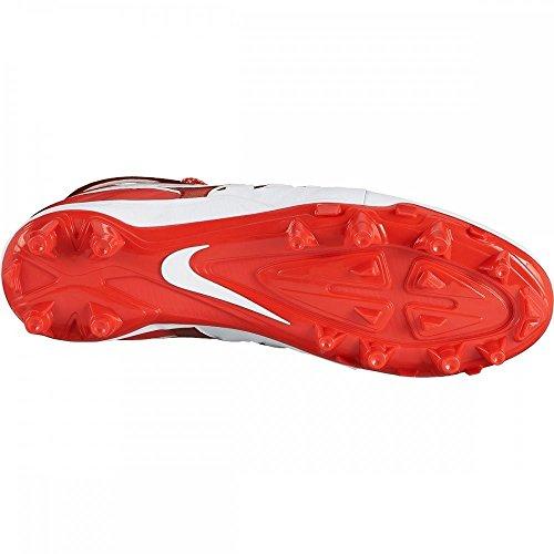 Nike Mens Huarache V Lax Scarpe Da Calcio Rosse Sfida Sfida / Bianco