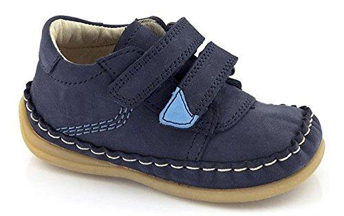 FRODDO Leder flexibel Lauflerner blau sneaker unisex Halbschuhe