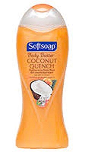 Fl 15 Oz Moisturizing (Softsoap Body Butter Moisturizing Body Wash, Coconut Quench. Pack of 2 x 15 Fl Oz/Bottle)