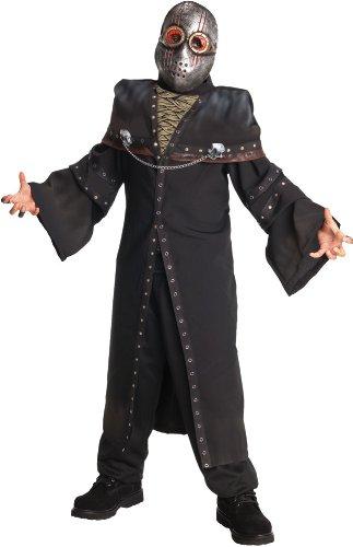 Horrorland Dark Ghoul Costume And Mask (Boys' Dark Straight Jacket Costumes)