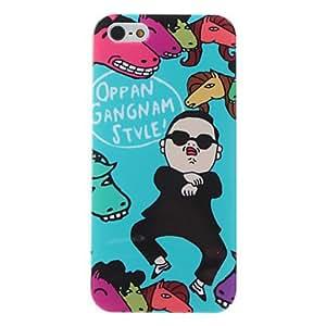 Procesamiento de dos días -Caso fresco de Gangnam estilo psy patrón duro para el iphone 5/5s