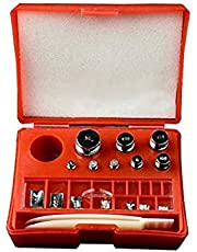 AMERICAN WEIGH SCALES AWS Scale Calibration Weight Kit, Red 10mg-500mg x 8 (WGHTKIT)