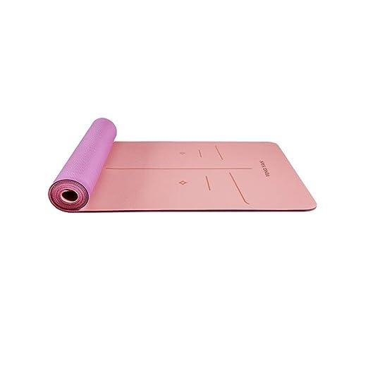 SGLI Engrosamiento de TPE ensanchado Estera de Yoga ...