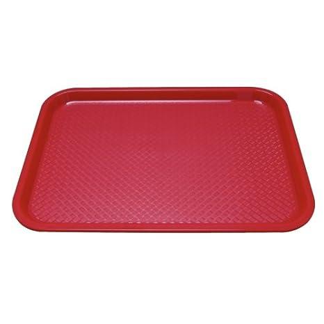 rouge Kristallon P504/Bac de restauration Kristal Lon en plastique moyen
