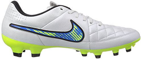 Nike Leather White Training FG Tiempo Football Genio Men fqxrfzSw