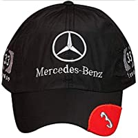 ITRA Stylish Unisex MERCEDES Cap (BLACK)