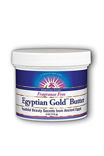 HERITAGE STORE Egyptian Gold Butter Non GMO, Butter, Fragrance Free (Jar) 4oz