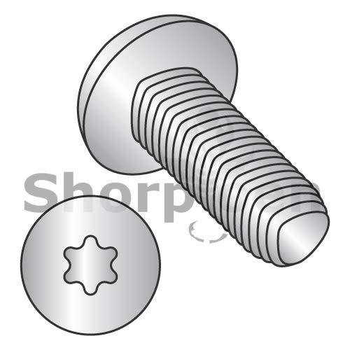 SHORPIOEN Din7500 CE 6Lobe Pan Thread Roll Screw Full THD 18 8 StainlessSteel PassivateWax M3-0.5 x 10 BC-M310RTP188 (Box of 4500)