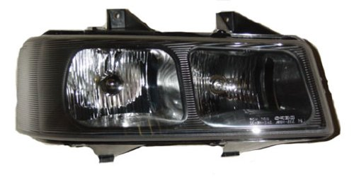 OE Replacement Chevrolet Van/GMC Savana Passenger Side Headlight Assembly Composite (Partslink Number GM2503233) (Passenger Savana Gmc Van)