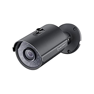 Amcrest ProHD Outdoor 1080P Security Bullet Camera (Black)
