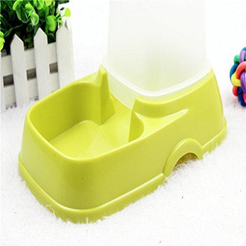 Fairy Season alimentador automático de mascotas perro gato dispensador de agua plato cuenco Color al azar: Amazon.es: Productos para mascotas