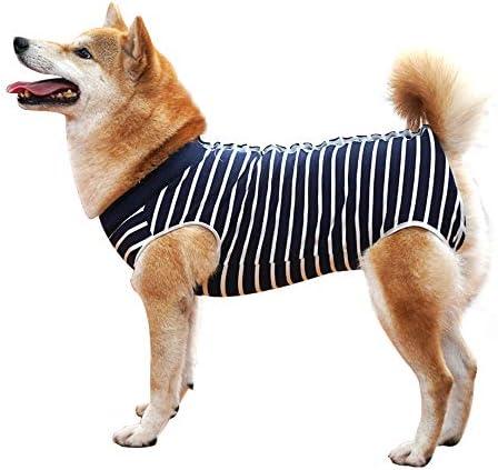 Krankenhausanzug für Hunde und Katzen, Wundschutz für Welpen, medizinische Kleidung, nach Operationen, Ersatzkragen und Kegel
