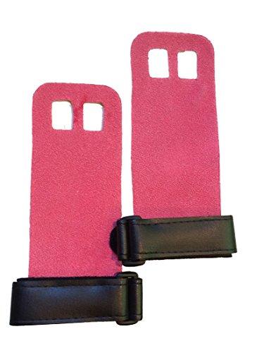 Gymnastics Grips - WOD Grips (Pink, Medium)