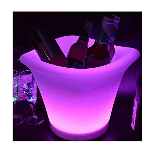 ZBJJ Luminous Wine Barrel Bar Furniture Manufacturers Spot Wholesale Luminous Waterproof Table Lamp Creative Luminous Sofa Four Corner Ice Bucket]()