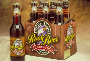 Goose Island Root Beer, 12 Ounce (12 Glass Bottles) - Island Root Beer