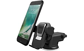 iOttie Easy One Touch 3 (V2.0) Car Mount Universal Phone Holder for iPhone X 8/8 Plus 7 7 Plus 6s Plus 6s 6 SE Samsung Galaxy S9 S9 Plus S8 Plus S8 Edge S7 S6 Note 8 5